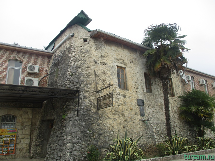 Генуэзская башня в Абхазии-4