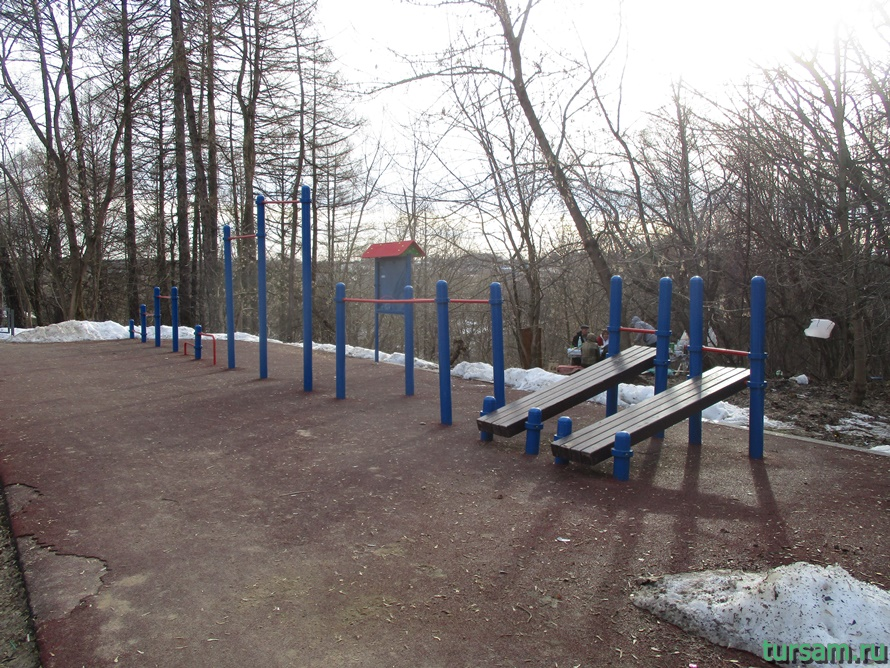 Городской парк в Истре-12