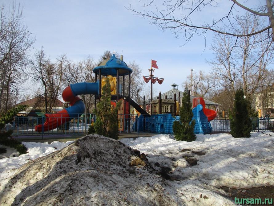 Городской парк в Истре-2