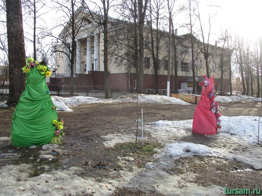Городской парк в Истре-6
