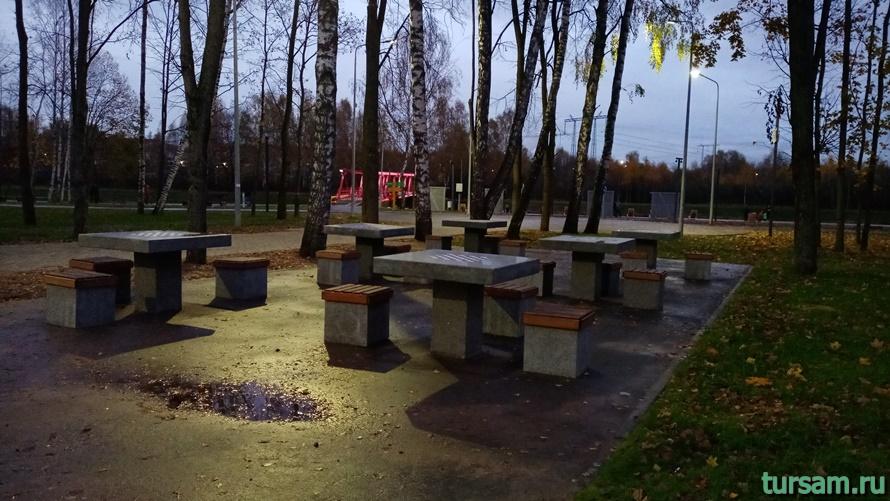 Городской парк культуры и отдыха в Ивантеевке-12