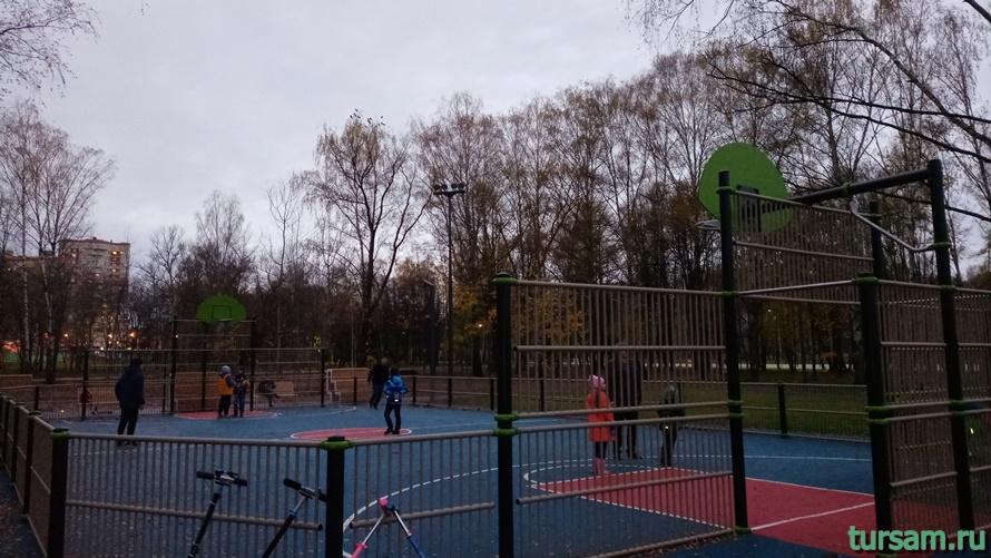 Городской парк культуры и отдыха в Ивантеевке-13