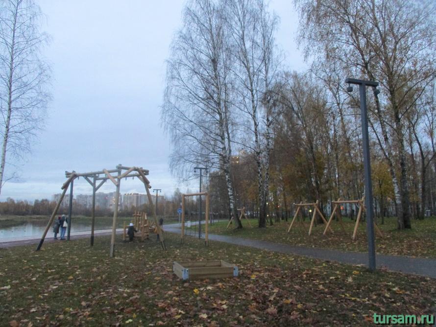 Городской парк культуры и отдыха в Ивантеевке-15