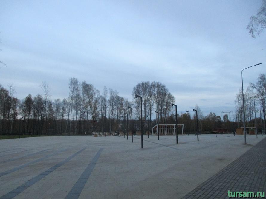 Городской парк культуры и отдыха в Ивантеевке-3