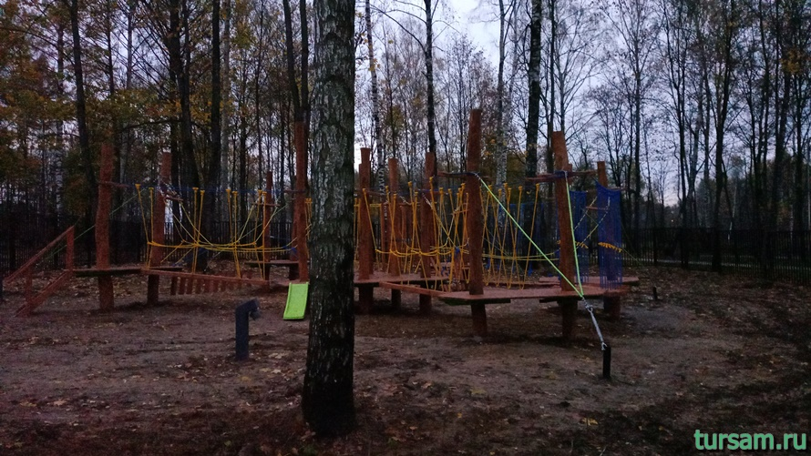 Городской парк культуры и отдыха в Ивантеевке-5