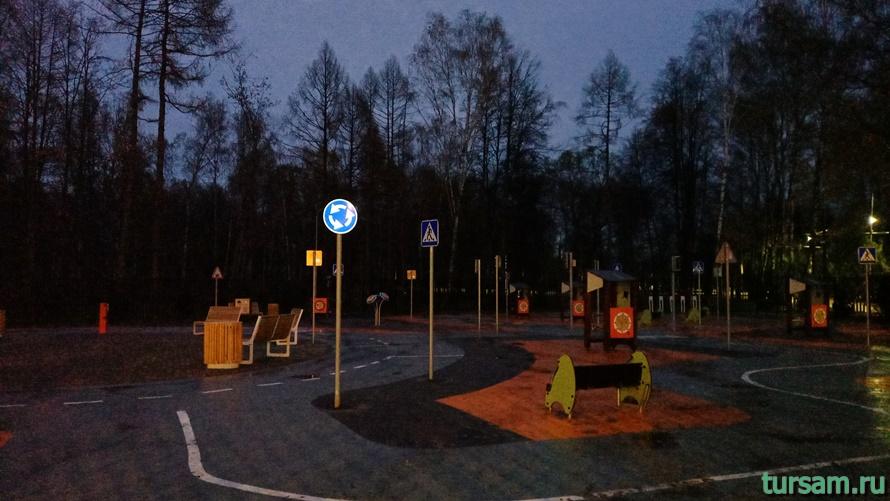 Городской парк культуры и отдыха в Ивантеевке-6
