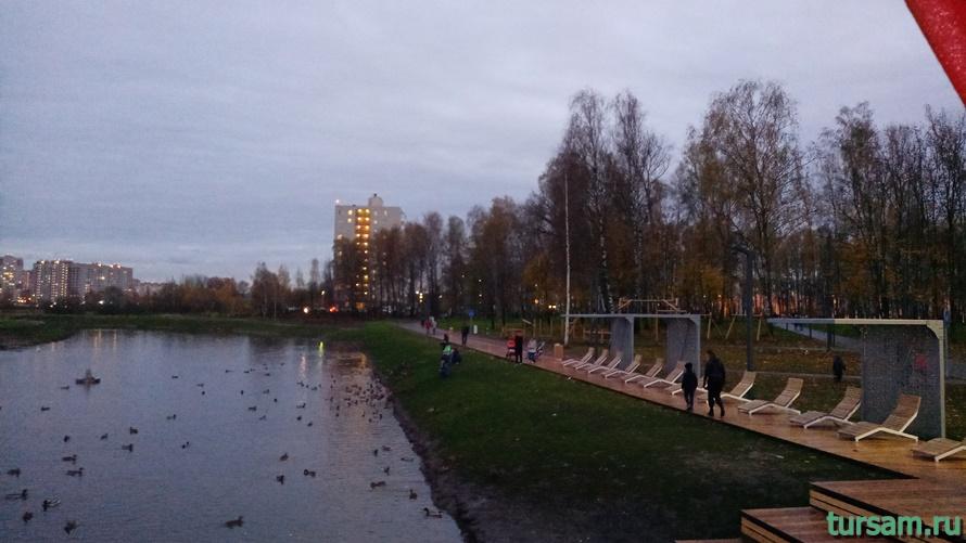 Городской парк культуры и отдыха в Ивантеевке-7