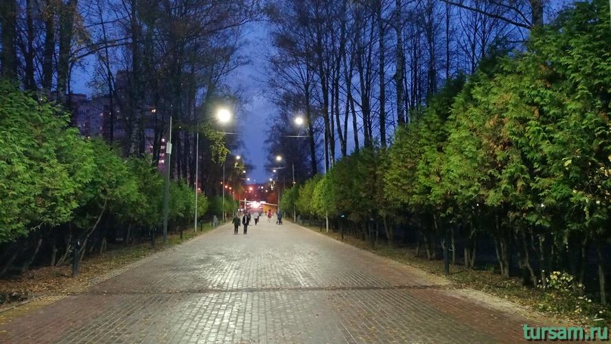 Городской парк культуры и отдыха в Ивантеевке-9