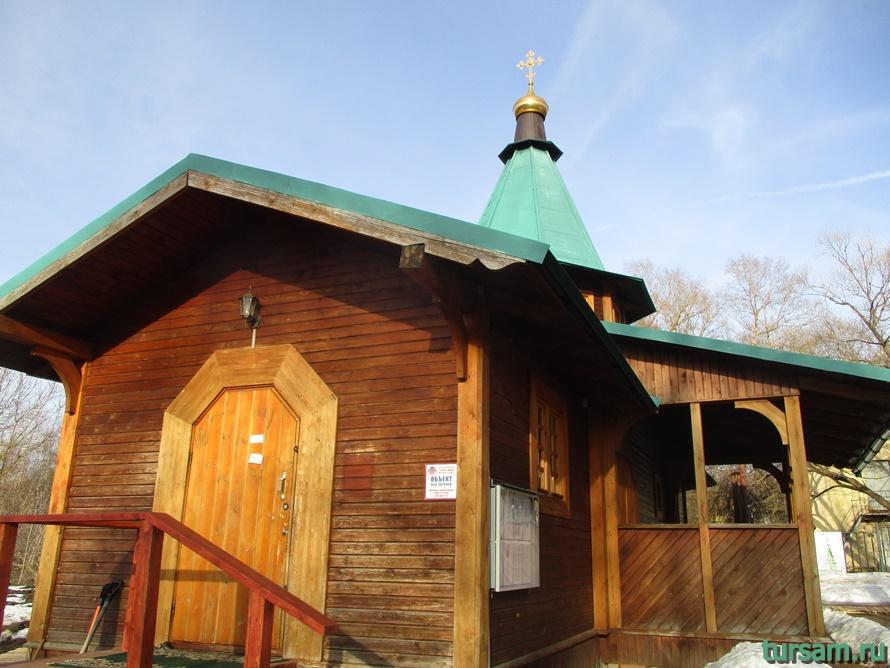Храм-часовня Вознесения в Истре-2