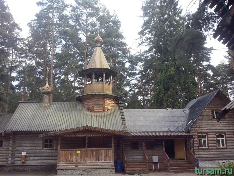 Храм Ксении Петербургской в Дубне