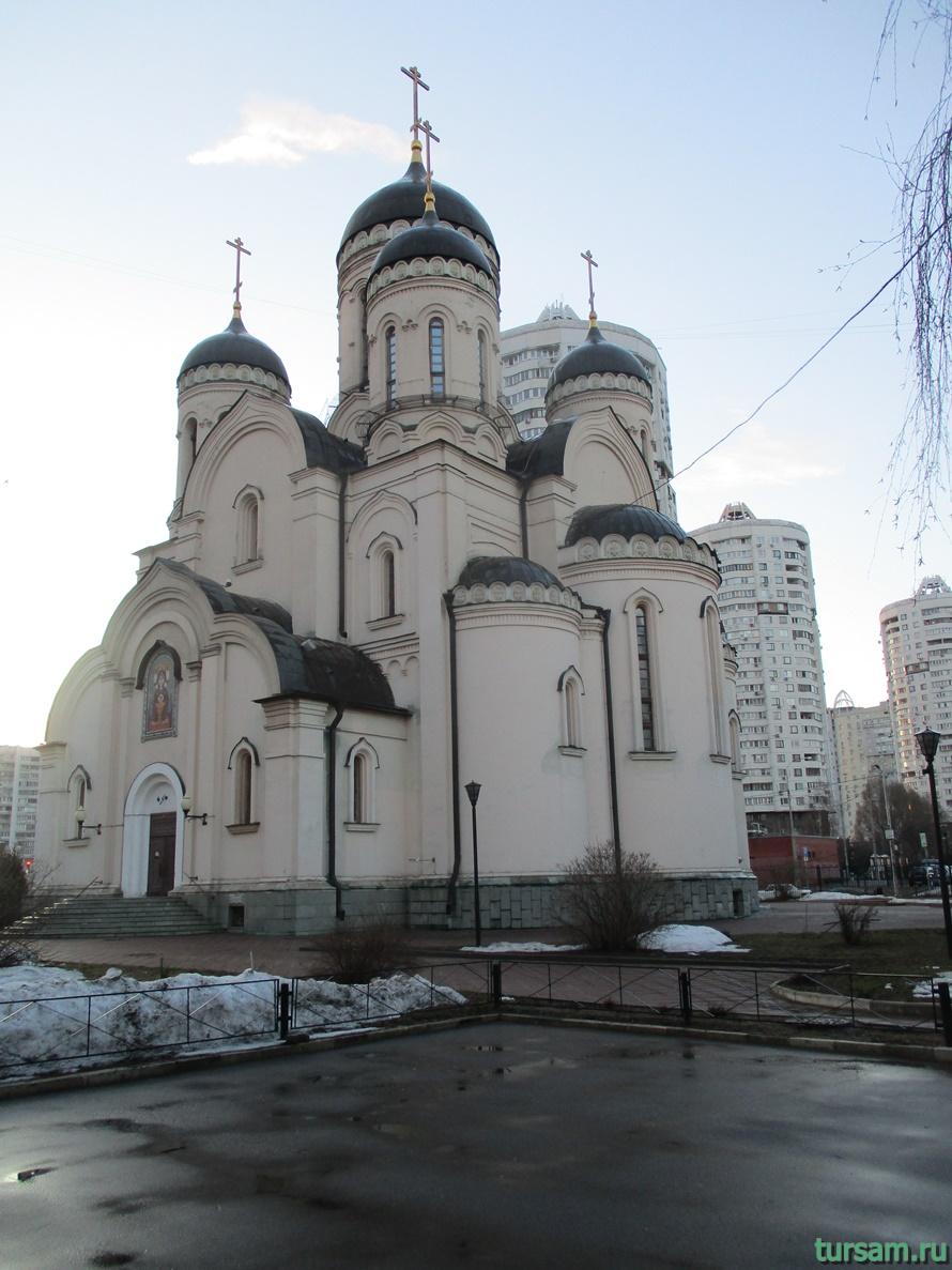 Храм «Утоли моя печали» в Марьино-2