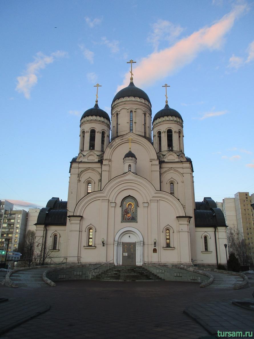 Храм «Утоли моя печали» в Марьино-3