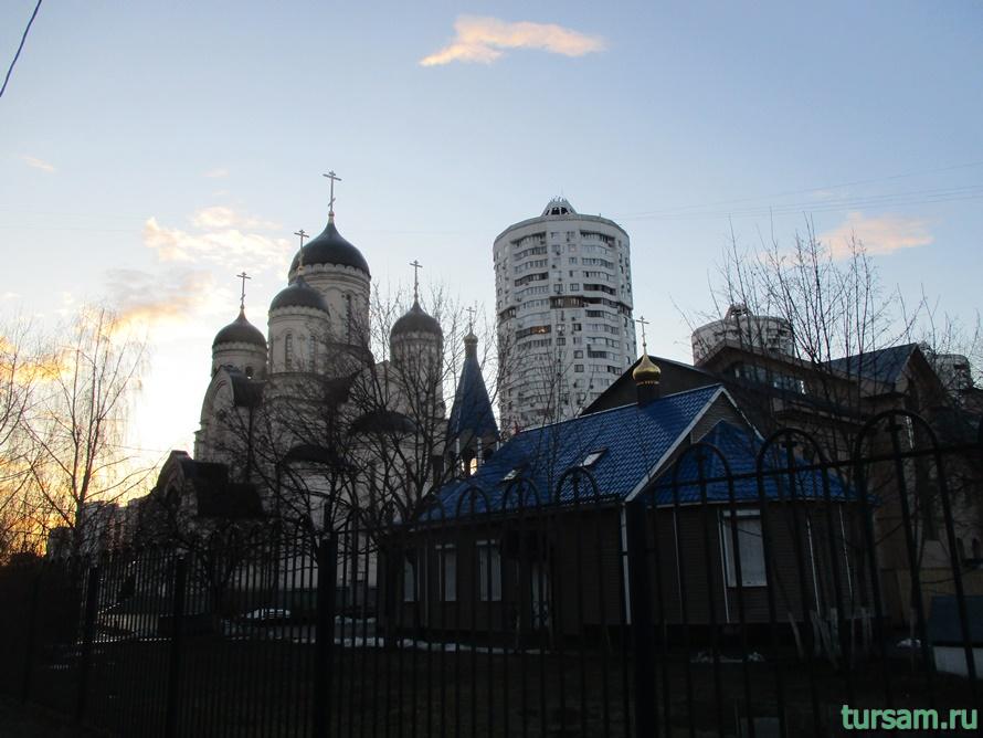 Храм «Утоли моя печали» в Марьино-4