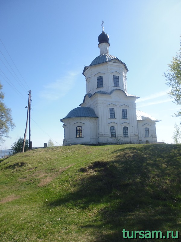 Храм Воздвижения Креста Господня осташковский район