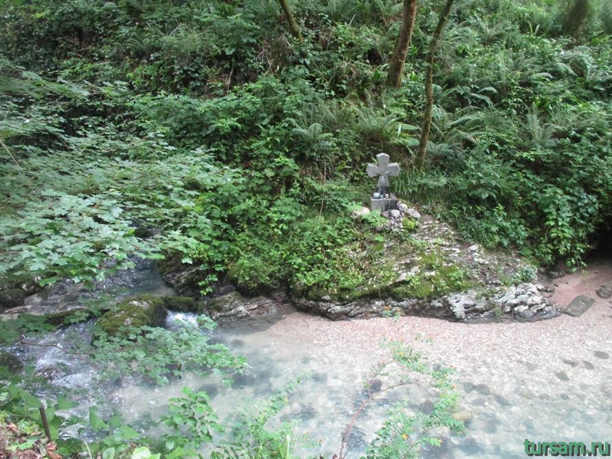 Историческое ущелье на реке Псырдсха-14