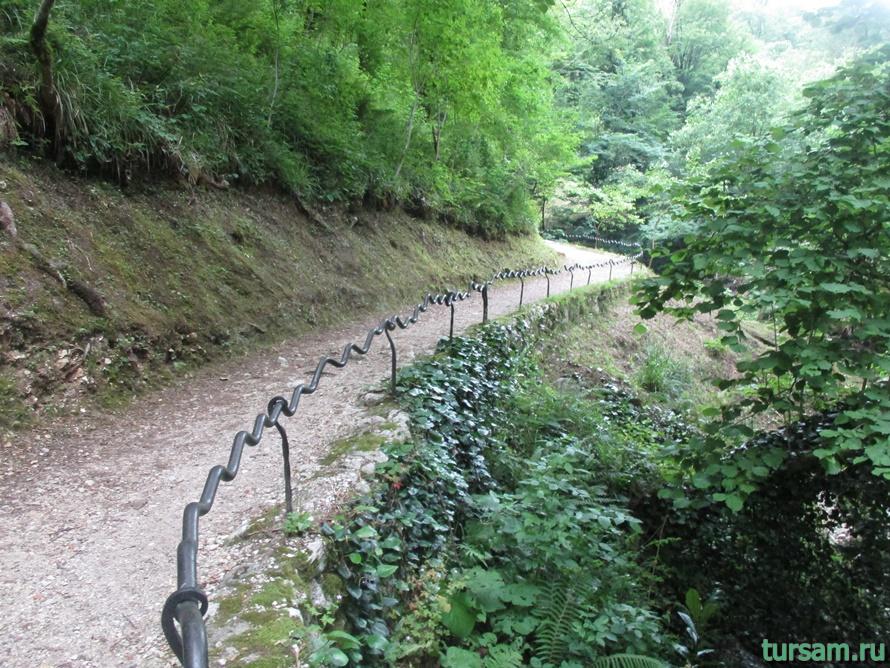 Историческое ущелье на реке Псырдсха-15