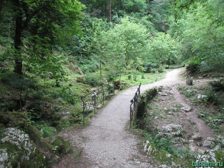 Историческое ущелье на реке Псырдсха-16