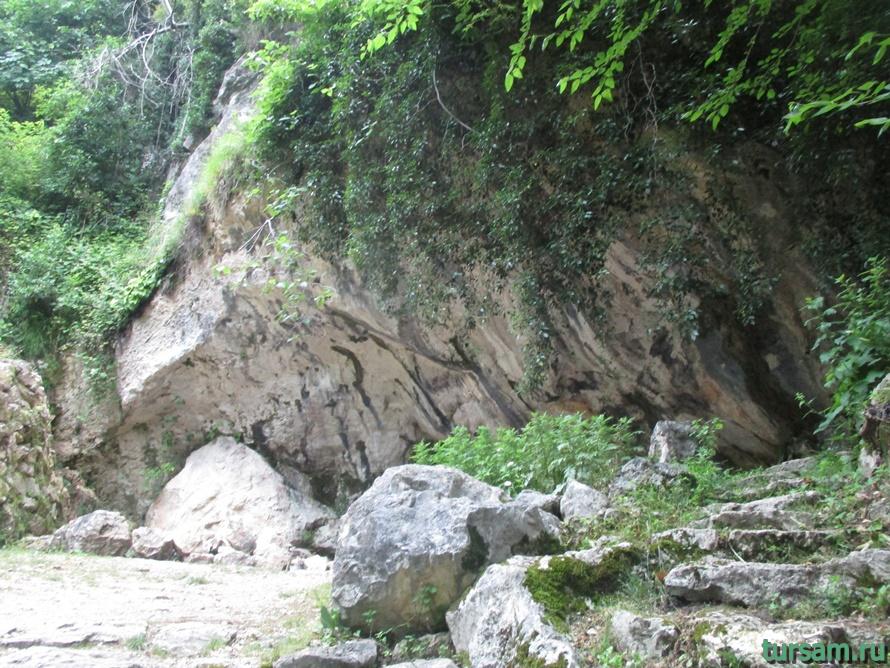 Историческое ущелье на реке Псырдсха-17