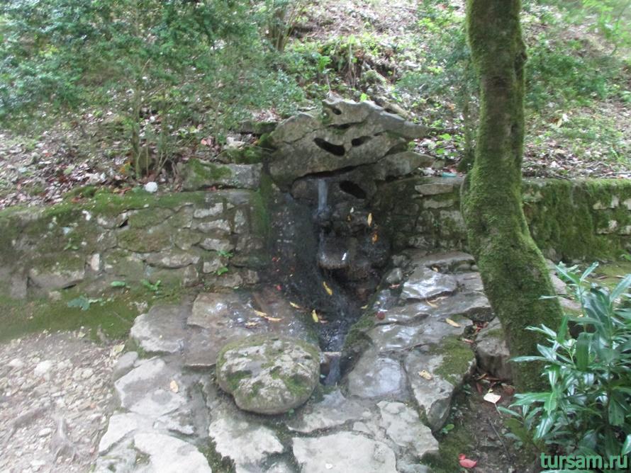 Историческое ущелье на реке Псырдсха-3
