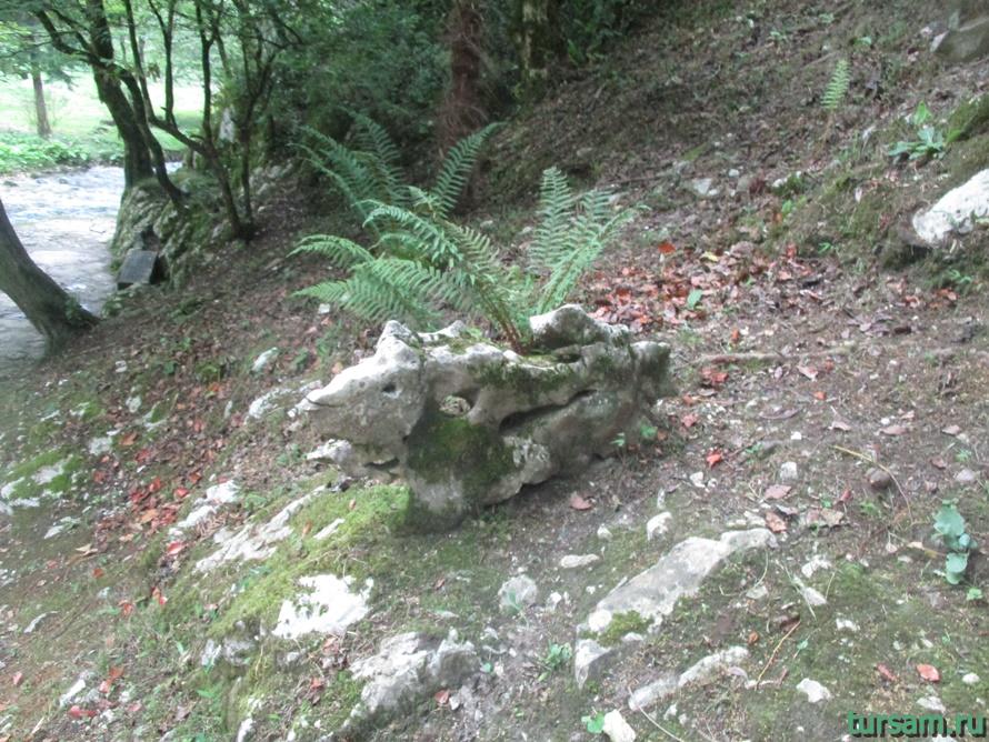 Историческое ущелье на реке Псырдсха-5