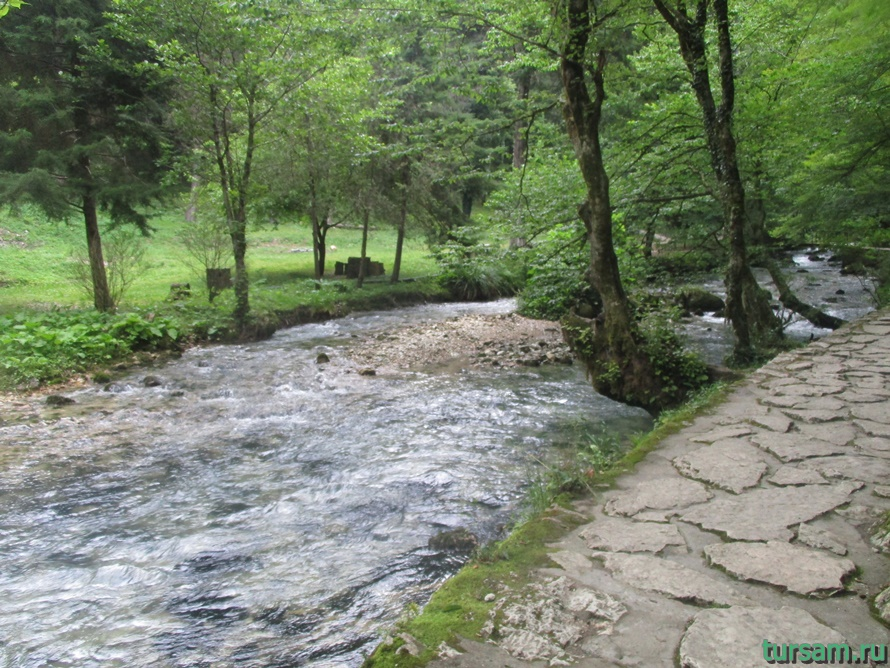 Историческое ущелье на реке Псырдсха-6
