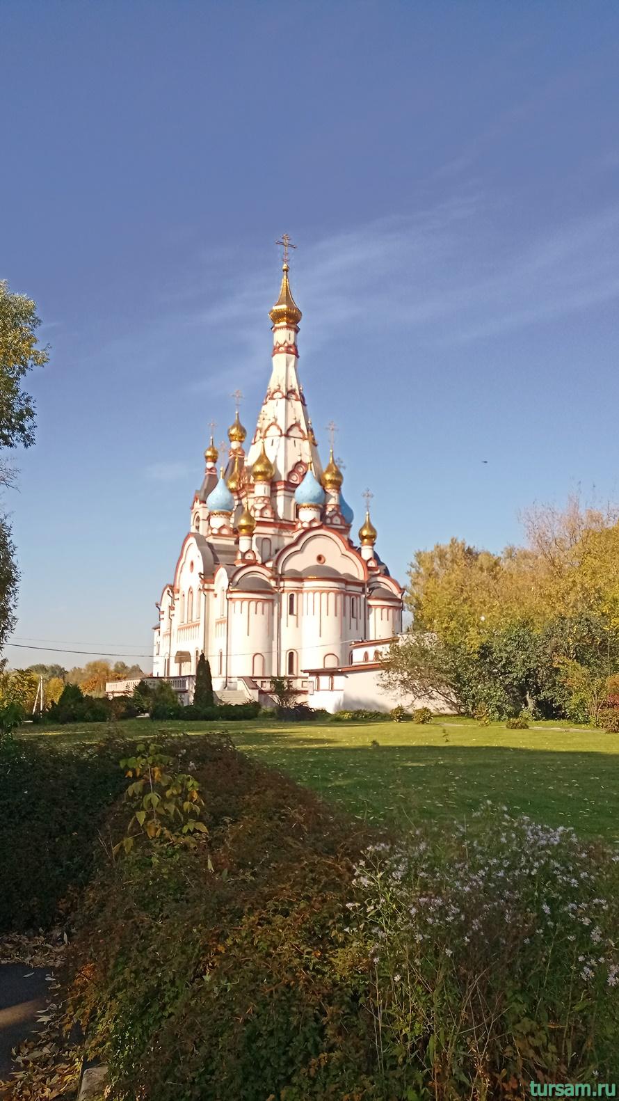 Казанская церковь в Долгопрудном-1