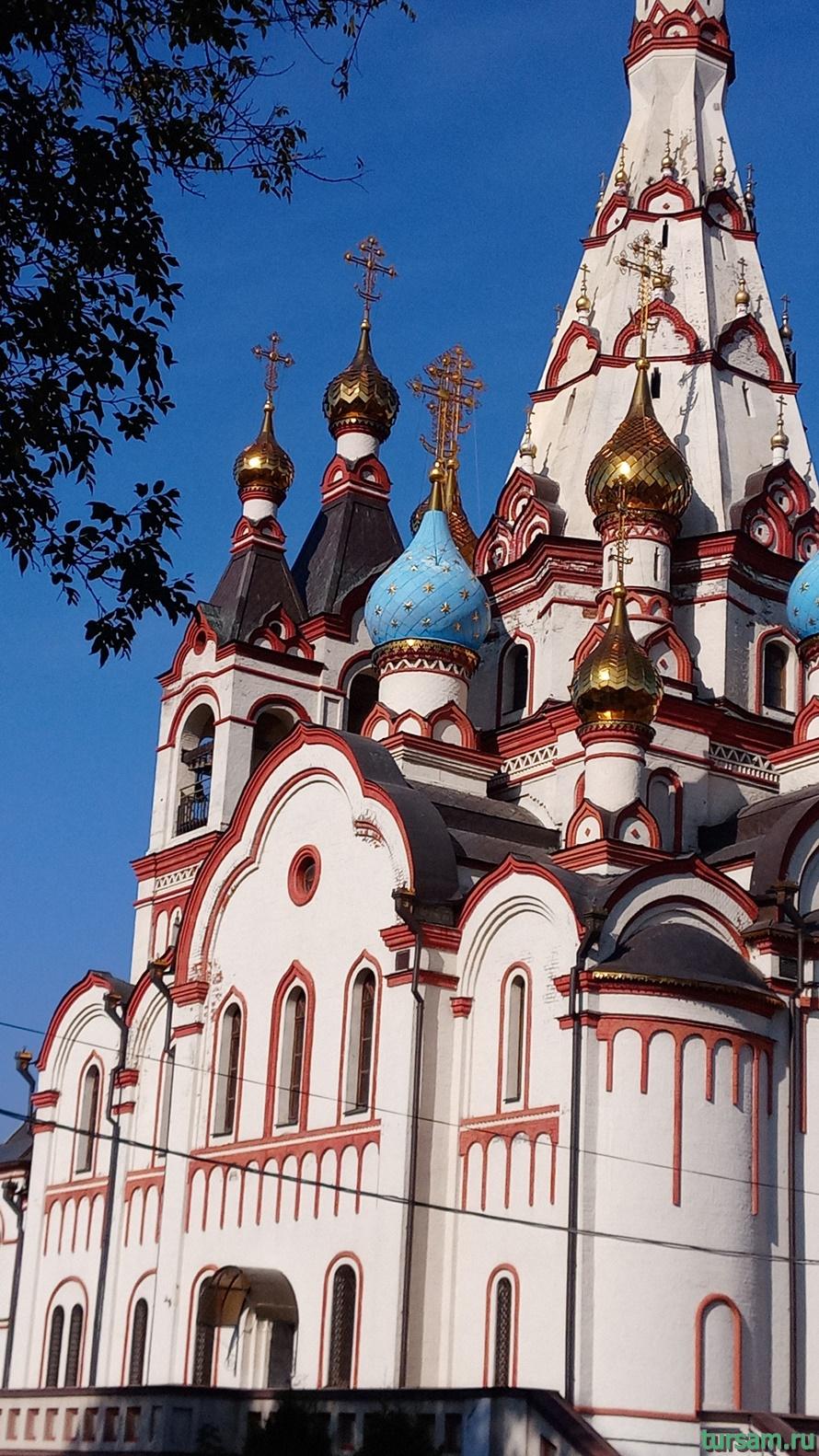 Казанская церковь в Долгопрудном-2