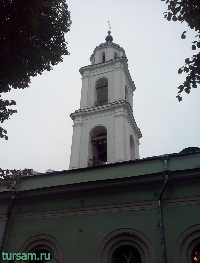 Колокольня храма Троицы Живоначальной на Шаболовке