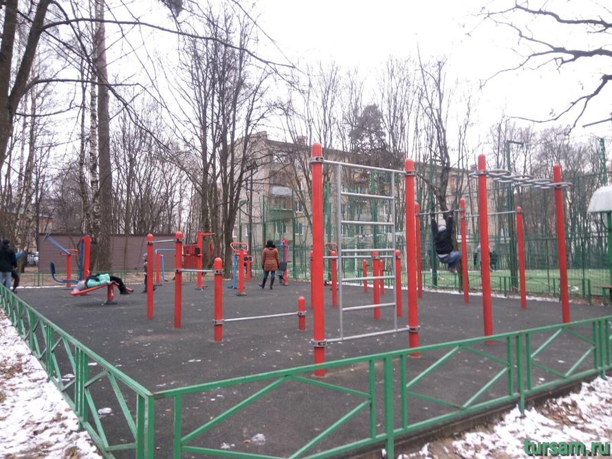 Красногорский городской парк-10