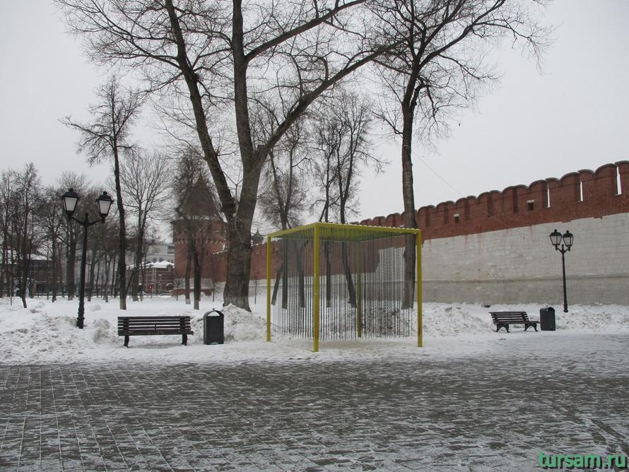 Кремлевский сад в Туле-10