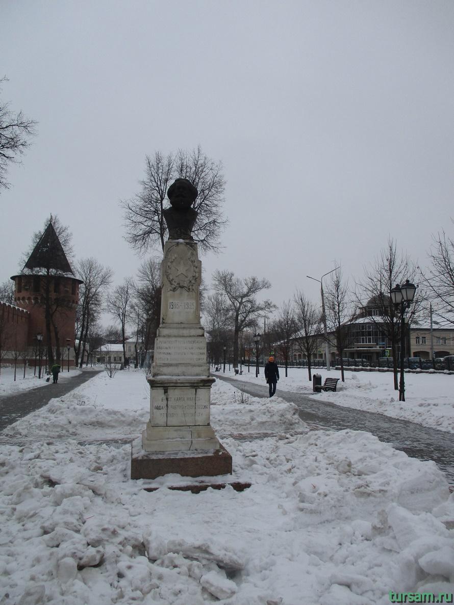 Кремлевский сад в Туле-3