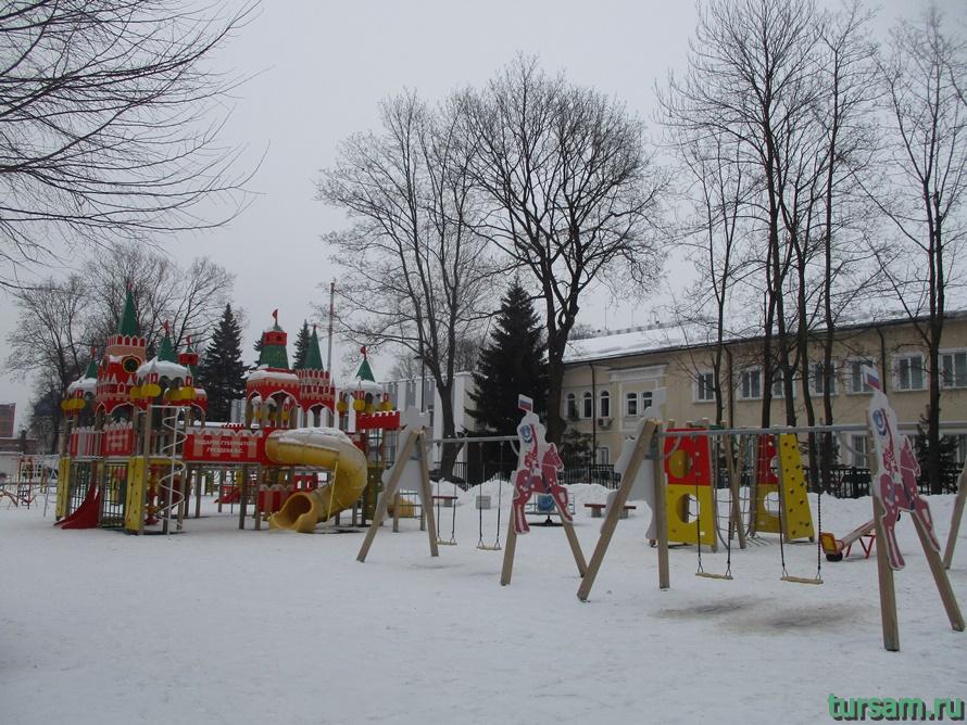 Кремлевский сад в Туле-7