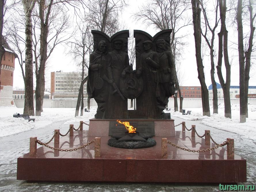 Кремлевский сад в Туле-8