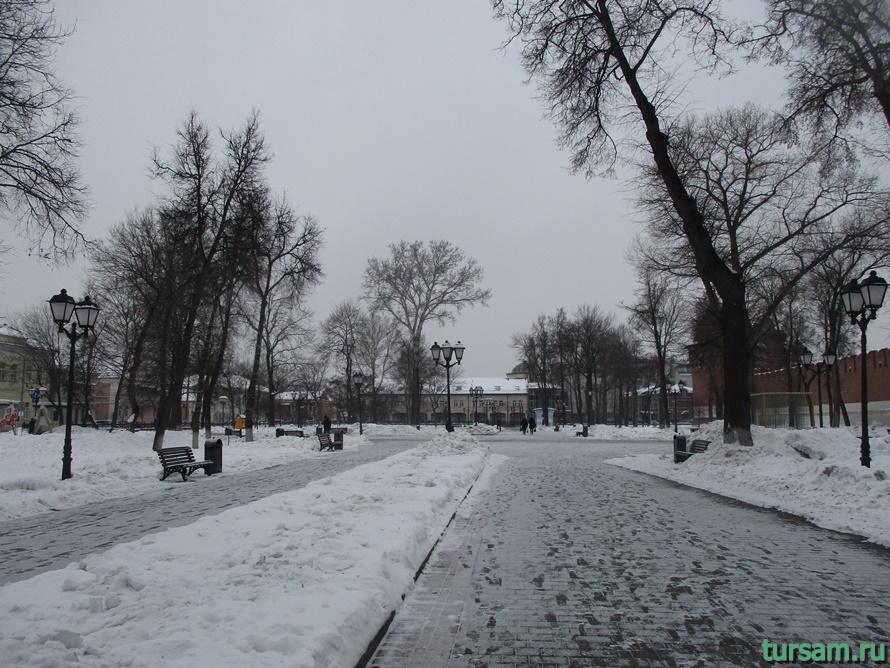 Кремлевский сад в Туле-9
