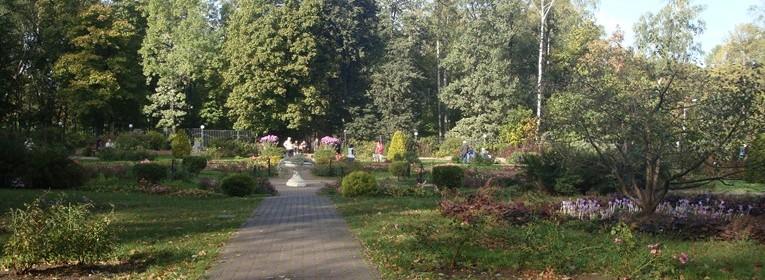 Малый розарий парка «Сокольники»