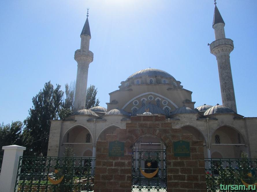 Мечеть Джума-Джами в Евпатории-3