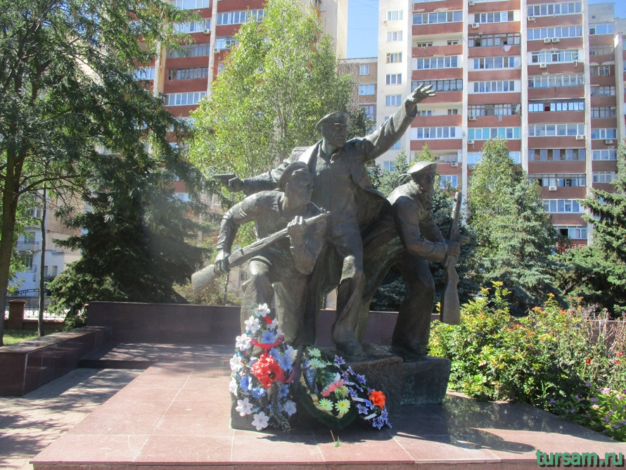 Мемориал Красная горка в Евпатории-2