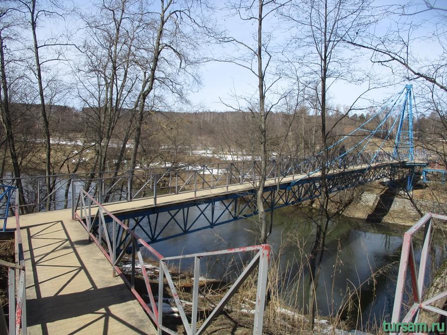 Мост в Истре к монастырю-1
