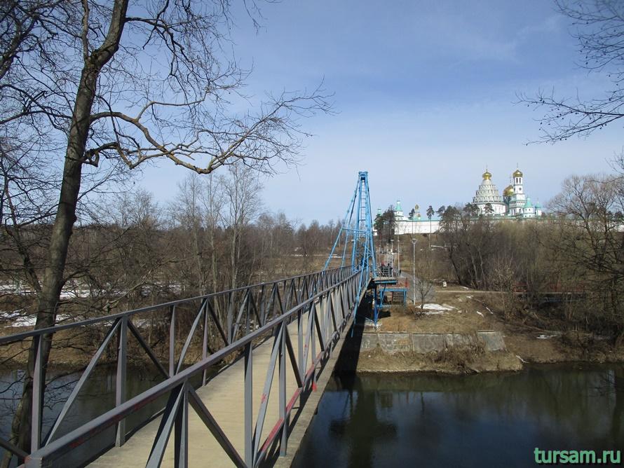 Мост в Истре к монастырю-2