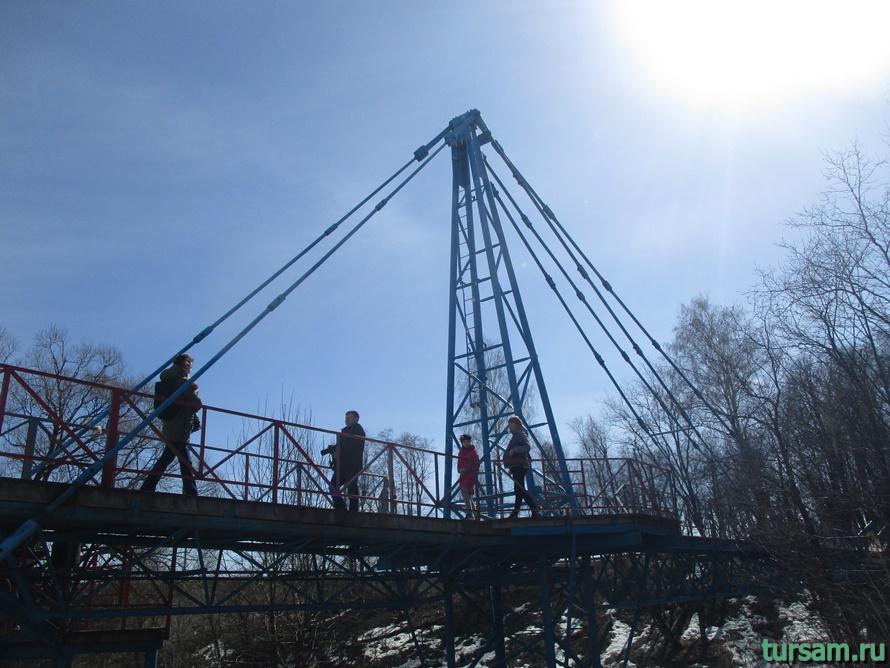 Мост в Истре к монастырю-3