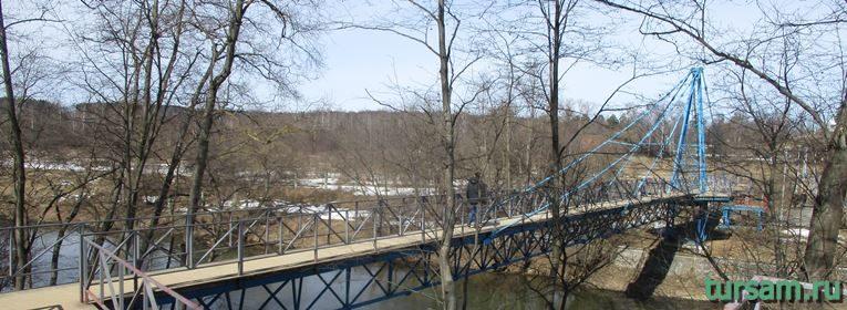 Мост в Истре к монастырю