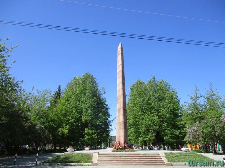 Обелиск Победы в городе Кимры