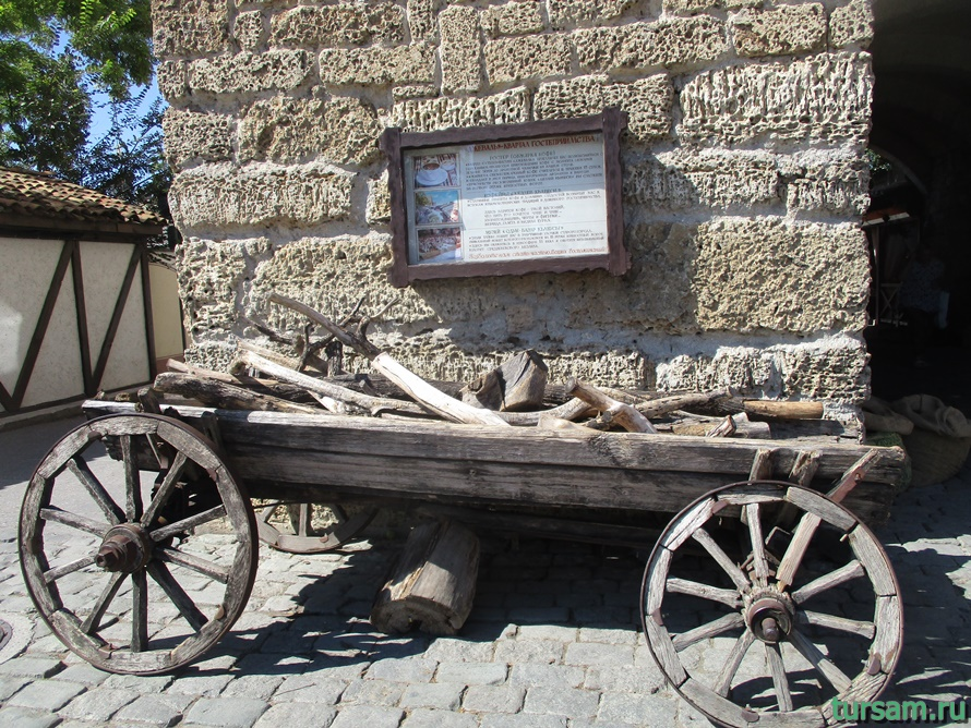 Одун базар къапусы в Евпатории-4