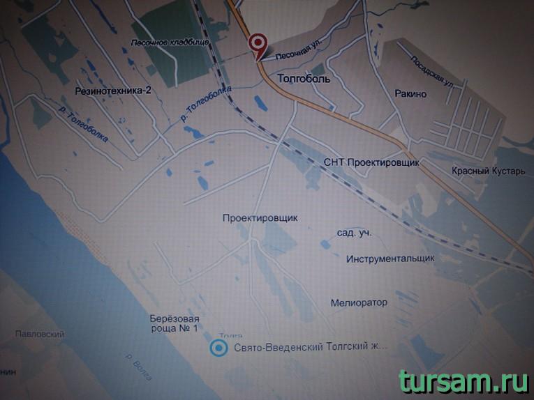 """Остановка """"Толгоболь"""" автобусов номер 21к и 21 в Ярославле"""