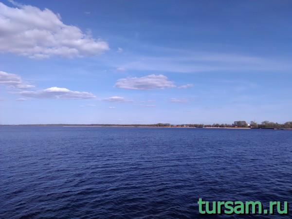 Озеро Селигер в Осташкове