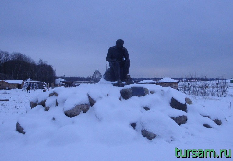 Памятник Л.Н. Гумилеву