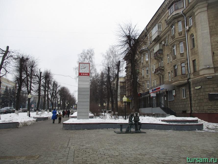Памятник Место встречи в Туле-1