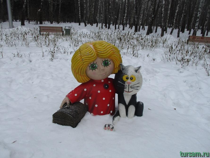 Парк Белоусова в Туле-10