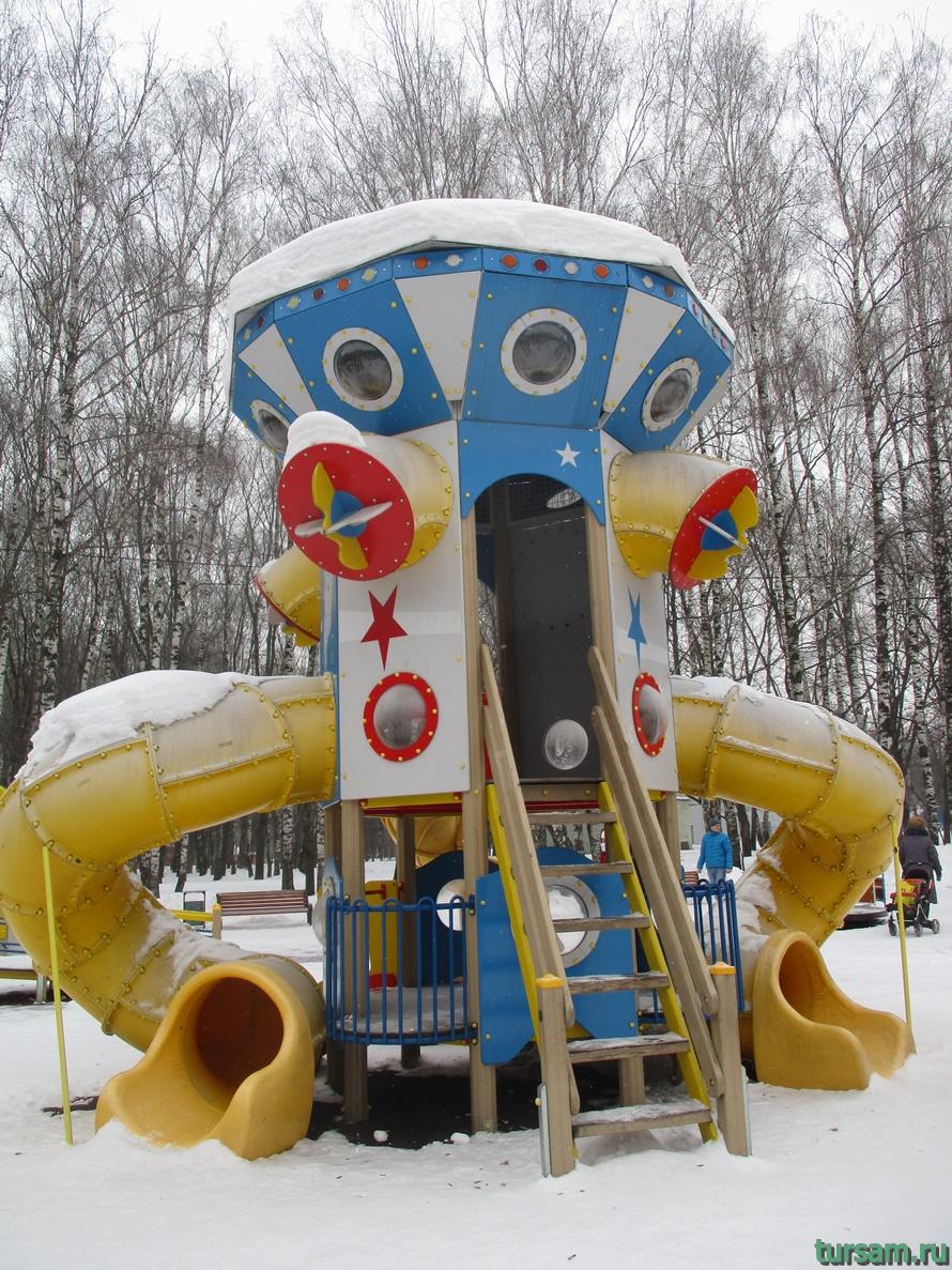 Парк Белоусова в Туле-11