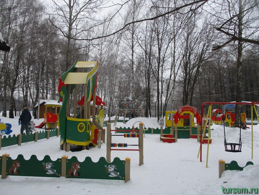 Парк Белоусова в Туле-12